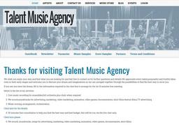 TalentMusicAgency.Com